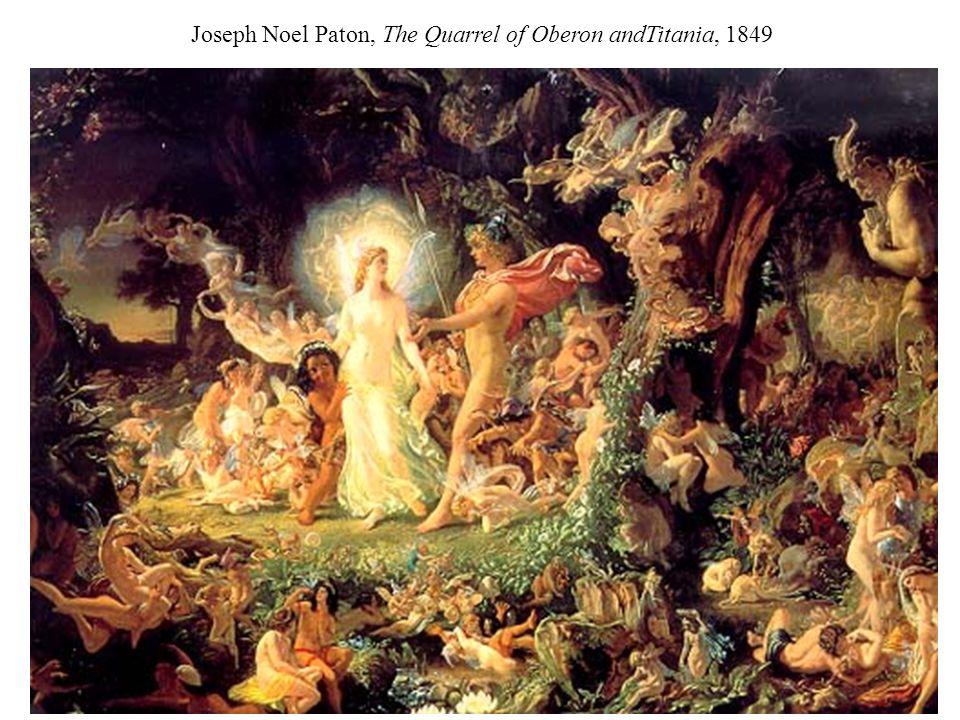 Joseph Noel Paton, The Quarrel of Oberon andTitania, 1849