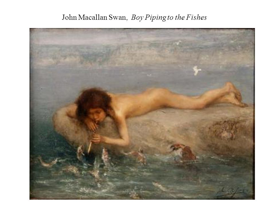 John Macallan Swan, Boy Piping to the Fishes