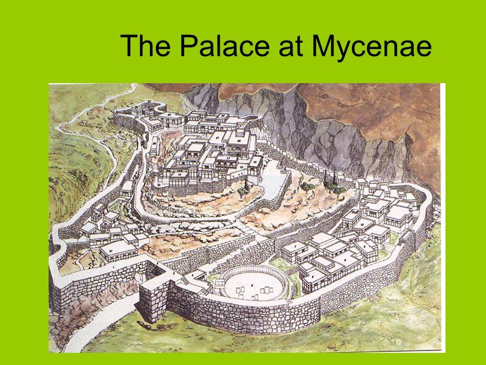 The Palace at Mycenae
