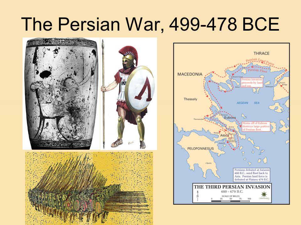 The Persian War, 499-478 BCE