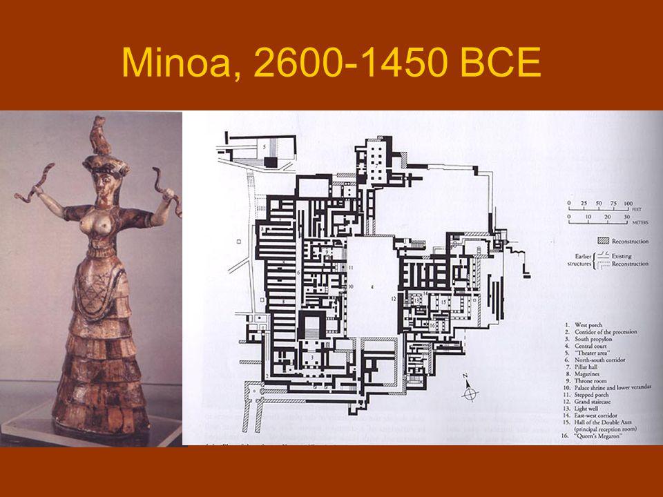 Minoa, 2600-1450 BCE