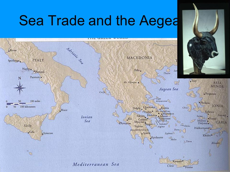 Sea Trade and the Aegean