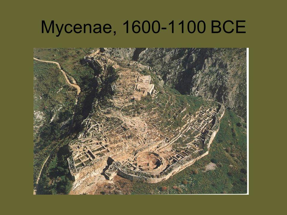 Mycenae, 1600-1100 BCE