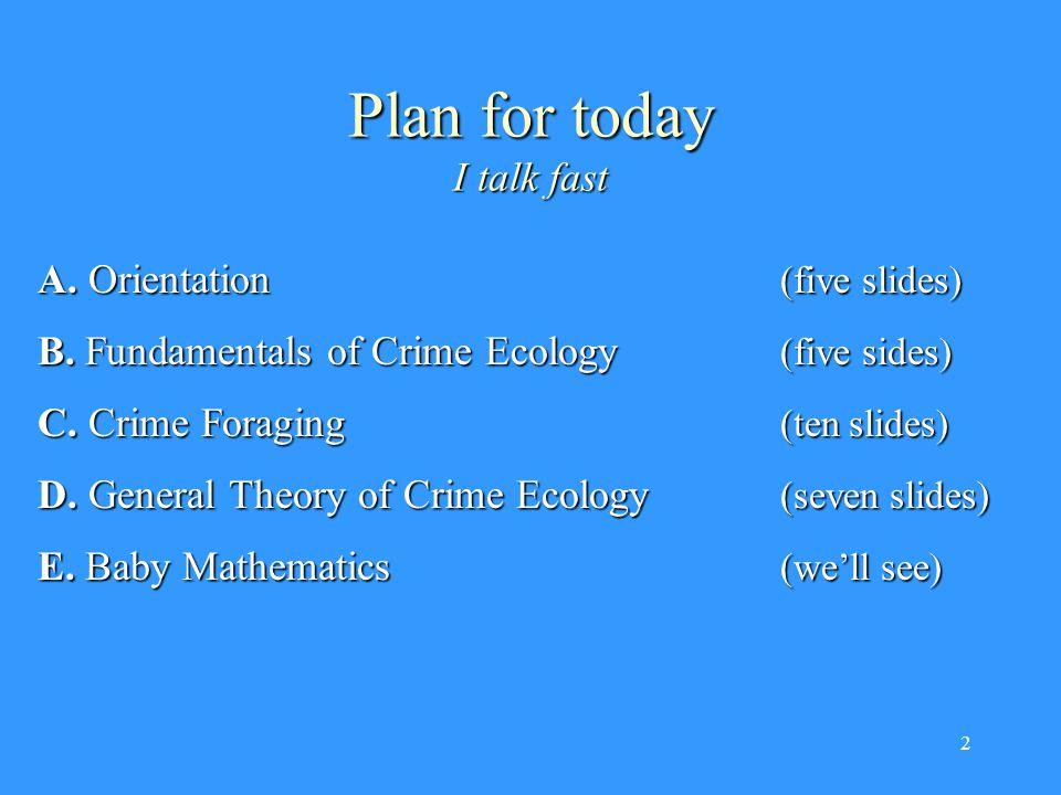 3 Part A – Orientation On five slides