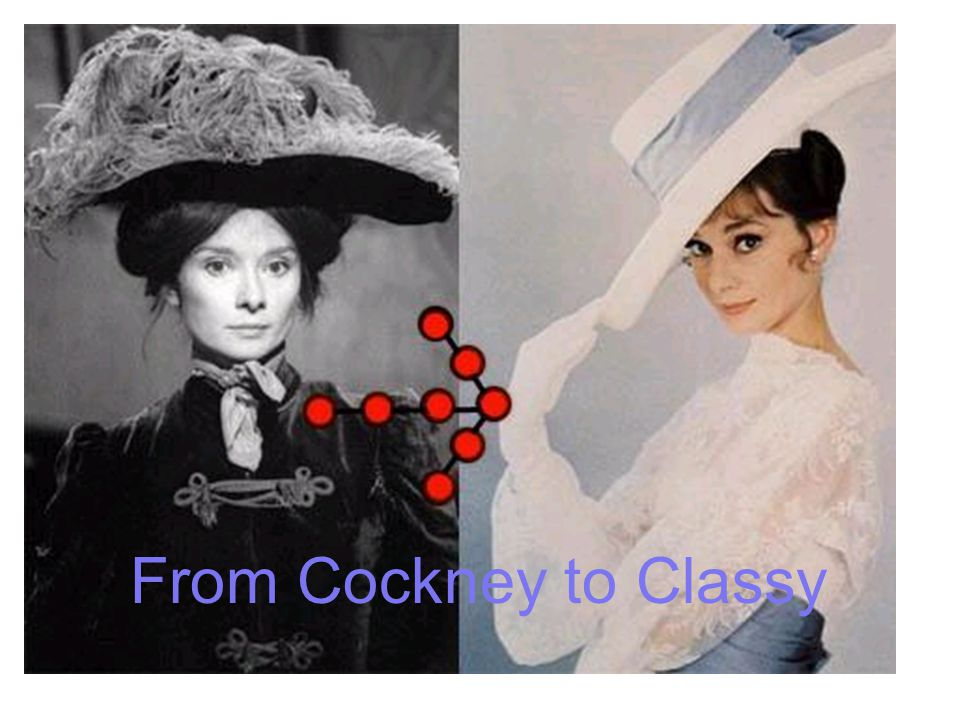 From Cockney to Classy