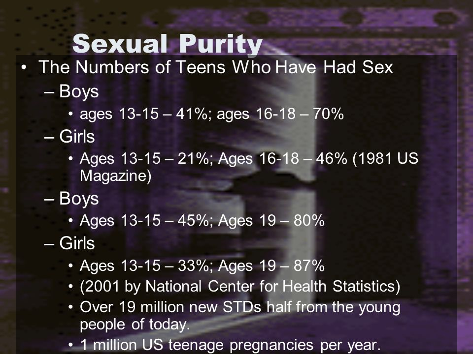 Sexual Purity Parental Warning Signs after dating begins for a young person –Lying/Sneakiness –Avoidance/Distancing (especially after a date) –Missing Curfew –Loss of Spiritual Interest Martial Warning Signs of Infidelity –See above –Withholding of self –Strange/Weird/Out of Ordinary Absences Fornication is a sin against one's own body – 1 Cor.