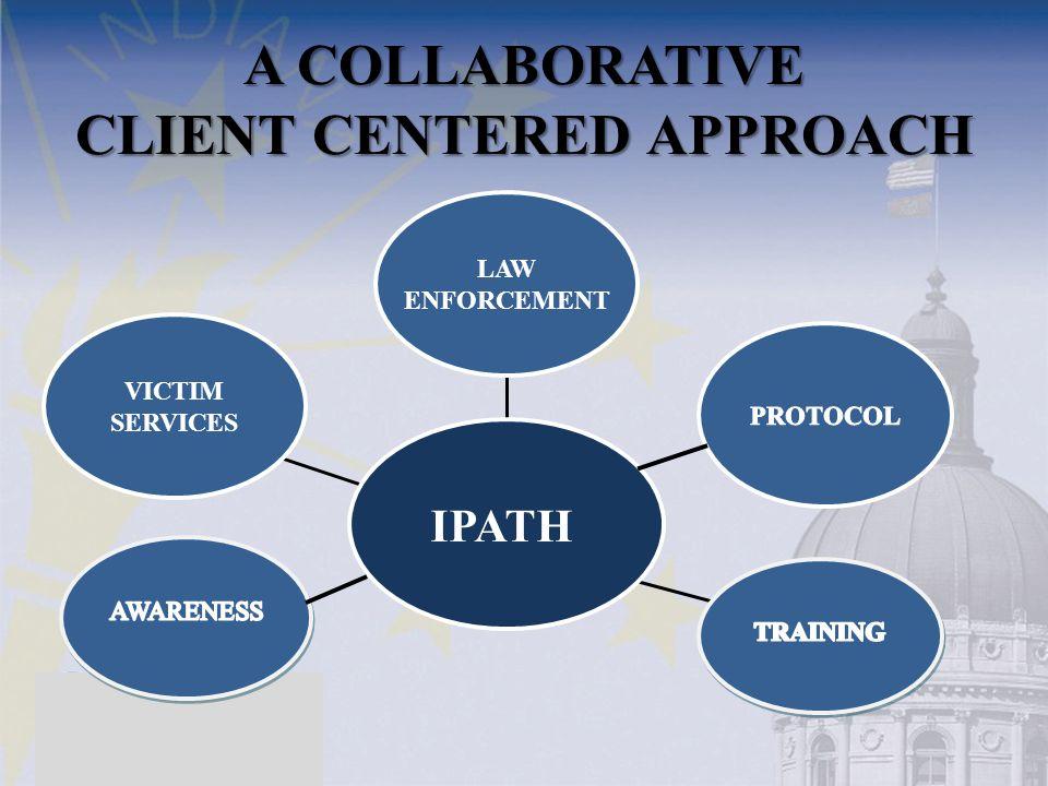 A COLLABORATIVE CLIENT CENTERED APPROACH VICTIM SERVICES LAW ENFORCEMENT IPATH