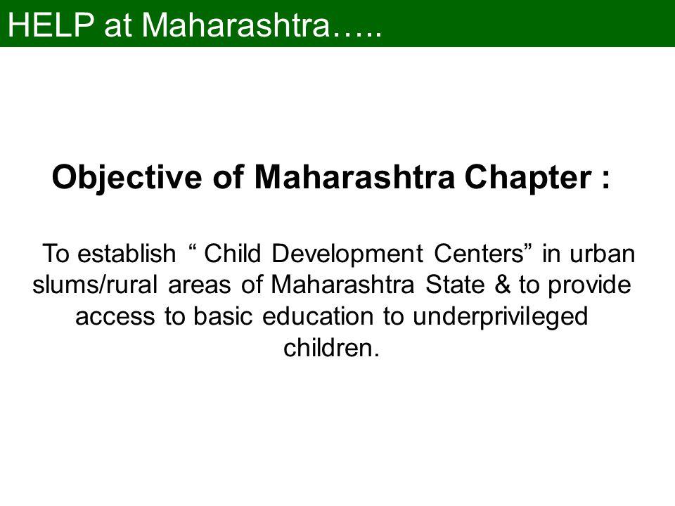 HELP at Maharashtra…..
