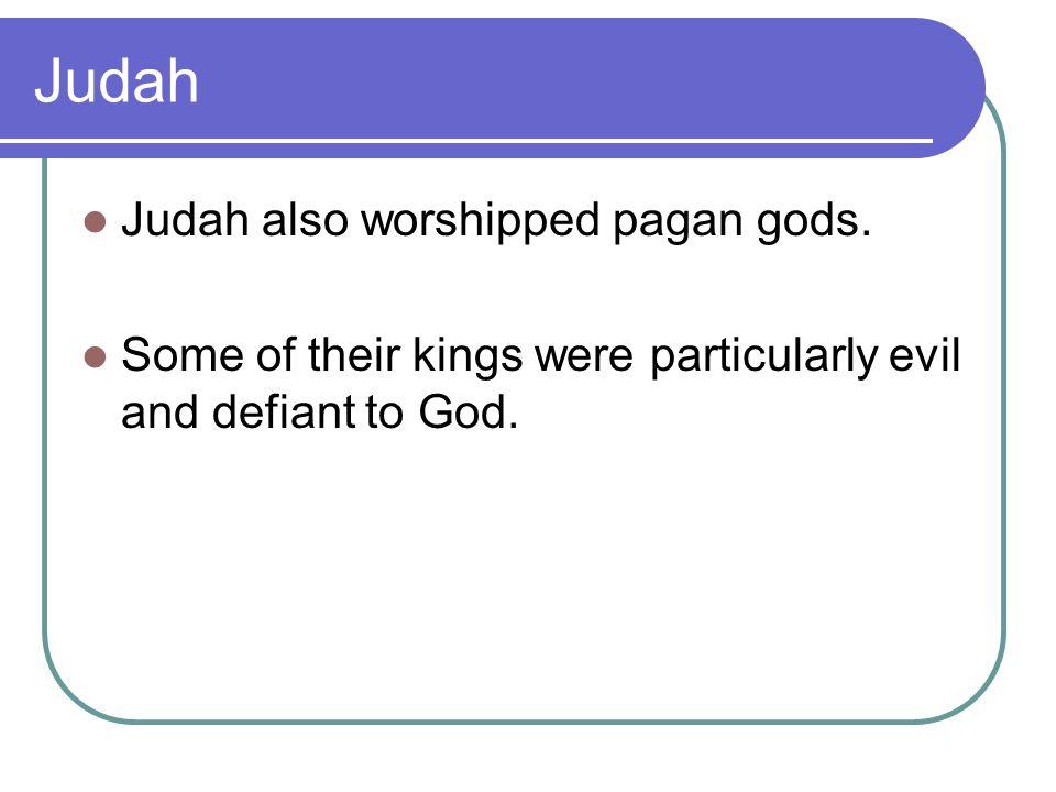 Was Judah any better