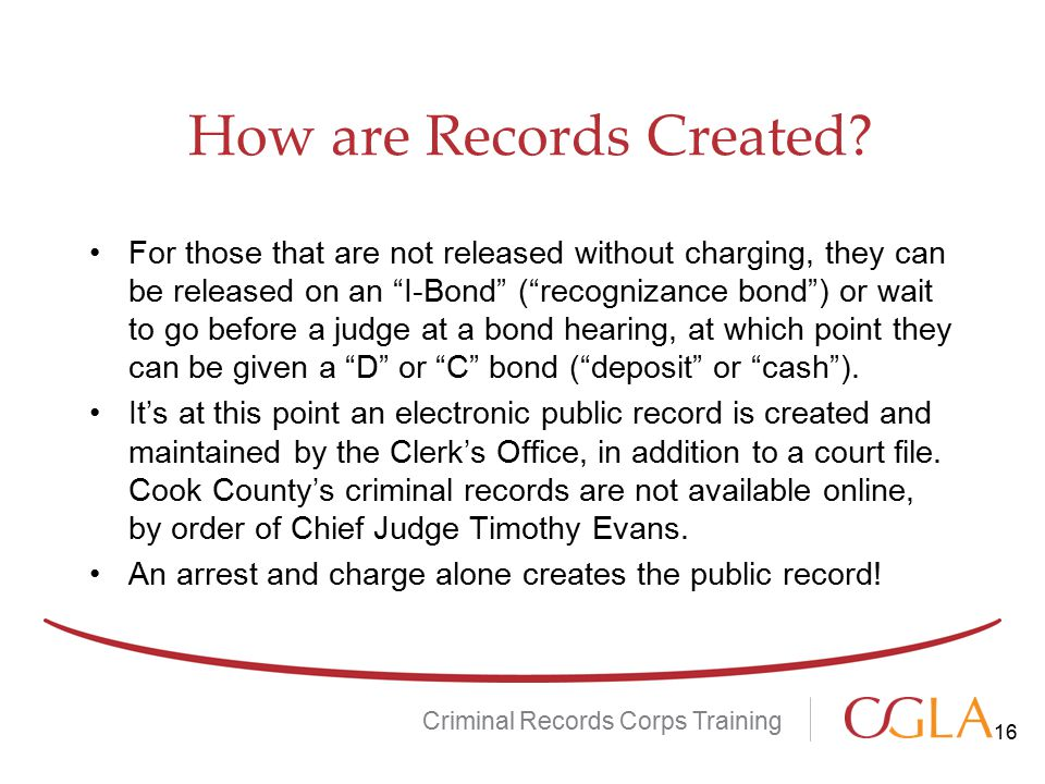 How are Records Created.