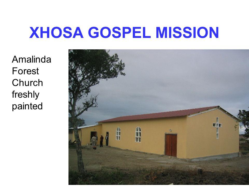 XHOSA GOSPEL MISSION Amalinda Forest Church freshly painted