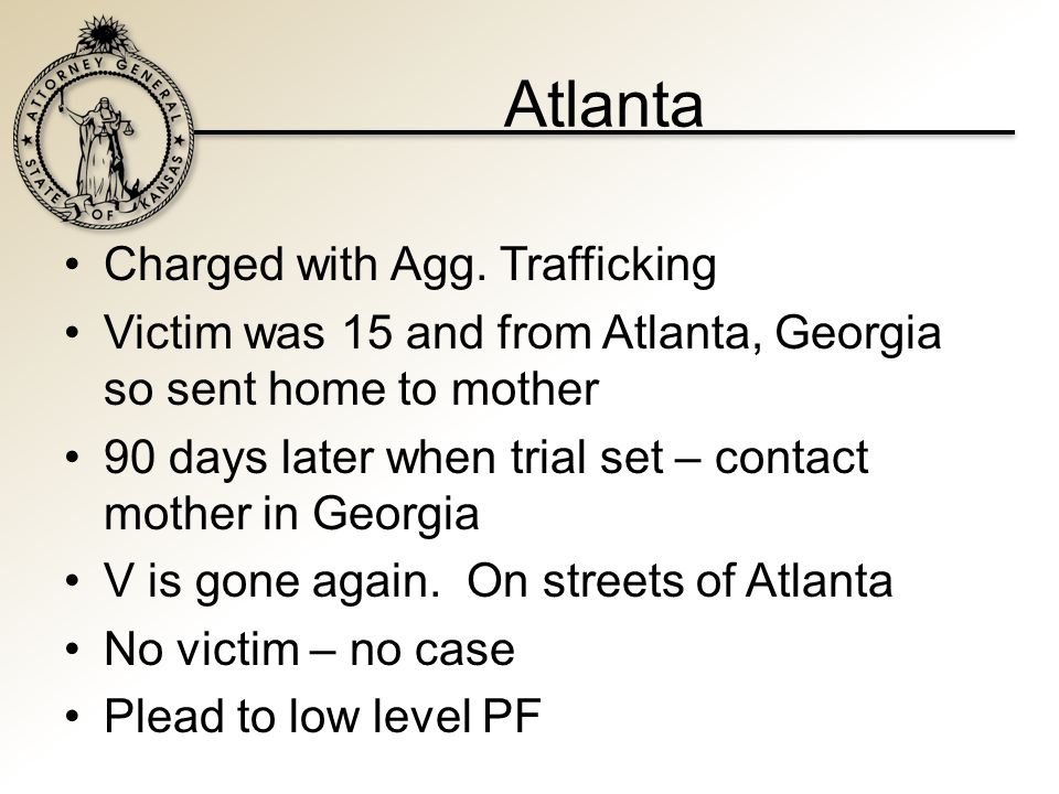 Atlanta Charged with Agg.