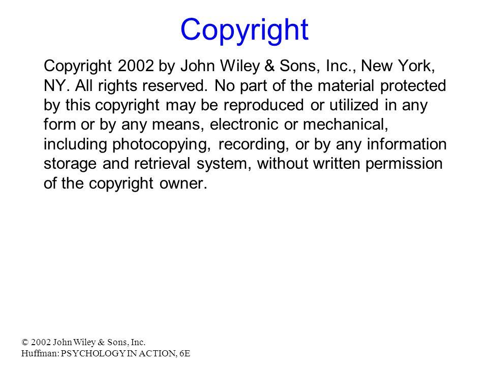 © 2002 John Wiley & Sons, Inc.
