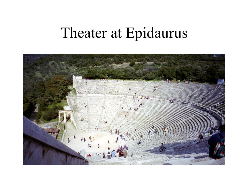 Theater at Epidaurus