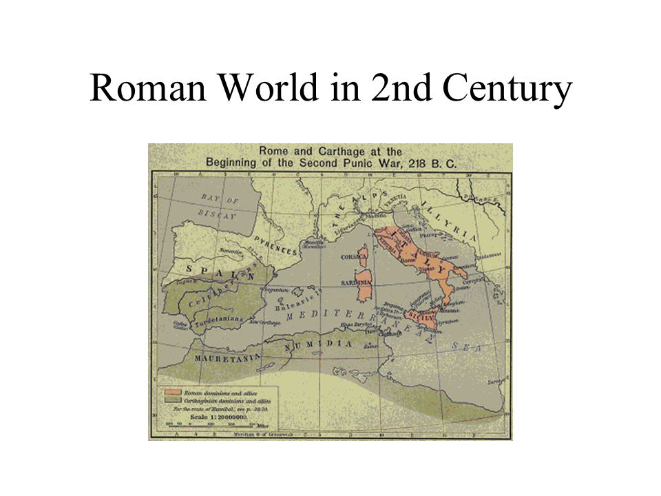 Roman World in 2nd Century