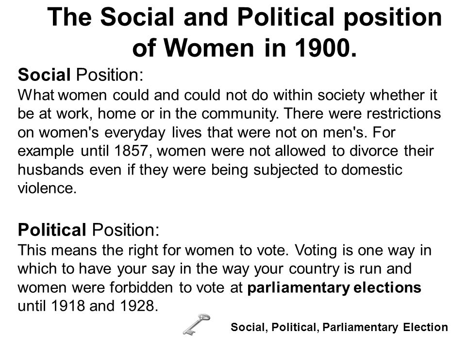 Women s reform groups Co-operative Women s Guild 1884 Campaigned for women workers rights, divorce reform and better schools and pensions.