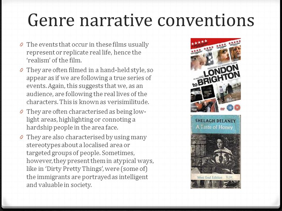 Generic Conventions- Case Study 'Kidulthood', 2006 0 The audience is able to see the events through the perspectives of many characters, as over the course of 48 hours, the themes of youth and gang culture, violence, drugs, sex and teenage pregnancies, bullying and alcohol are explored in West London.