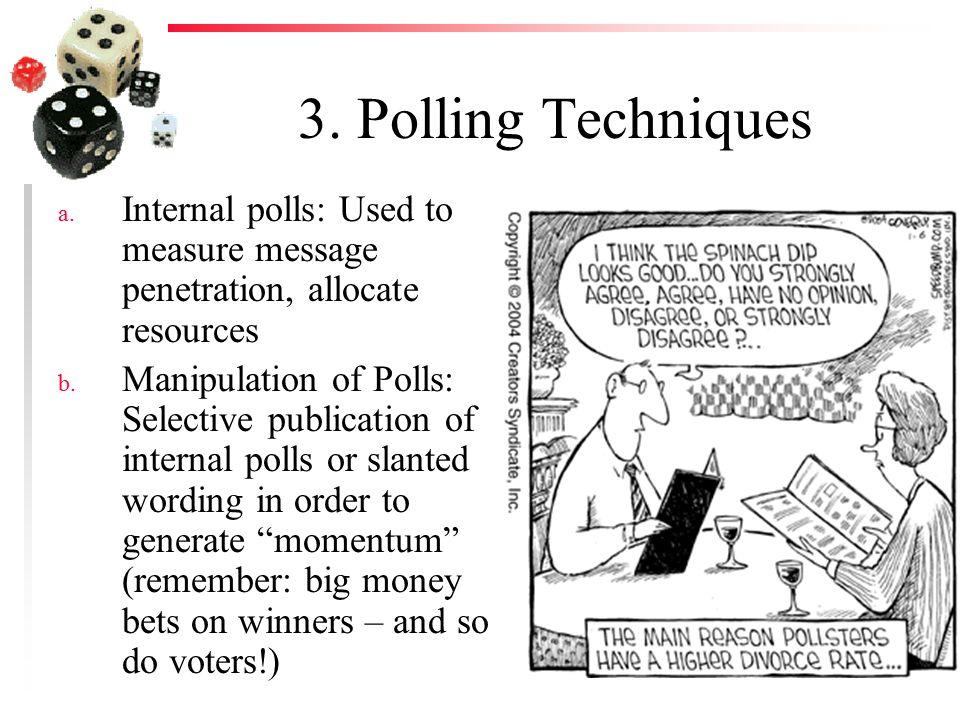 3. Polling Techniques a.