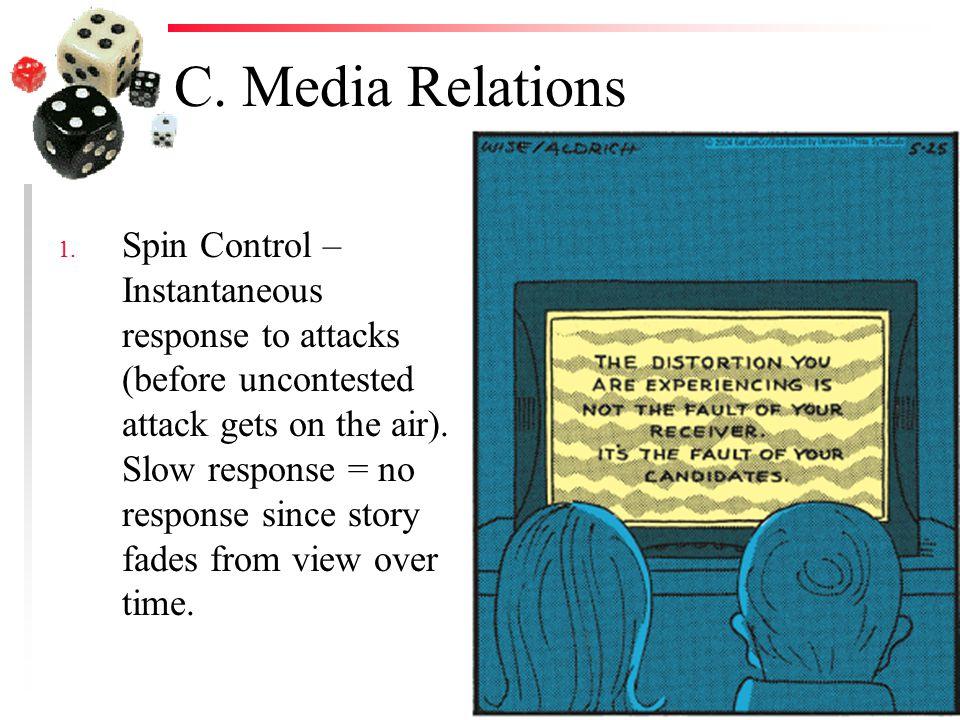 C. Media Relations 1.