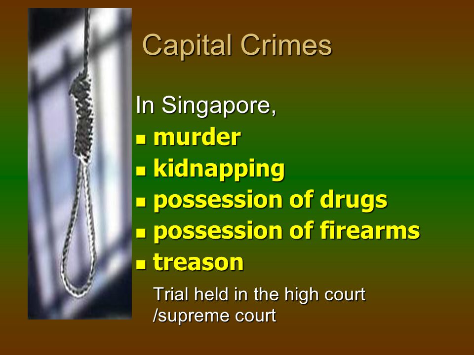 Types of Crime Serious crimes/felonies Serious crimes/feloniesmurderrape armed robbery housebreakingkidnapping