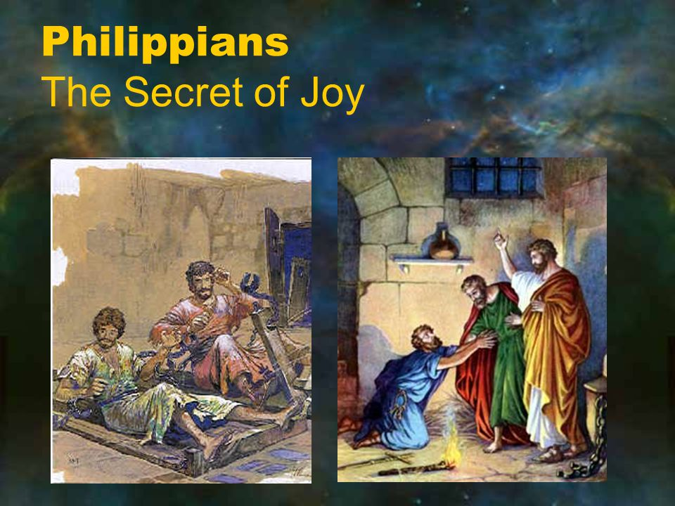 Philippians The Secret of Joy
