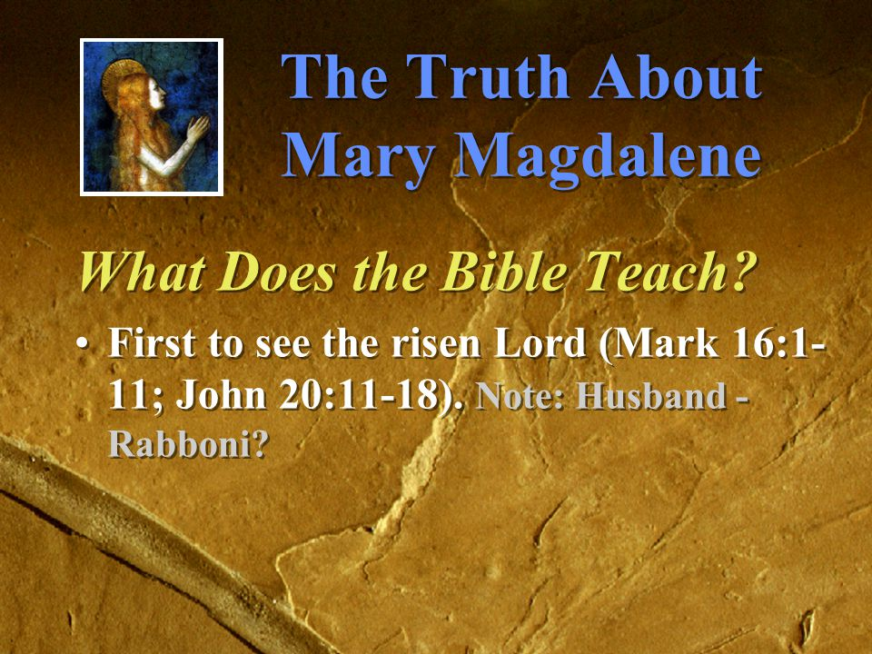 The Truth About Mary Magdalene What Does the Bible Teach.