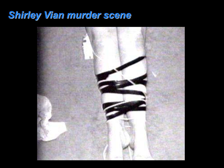Shirley Vian murder scene
