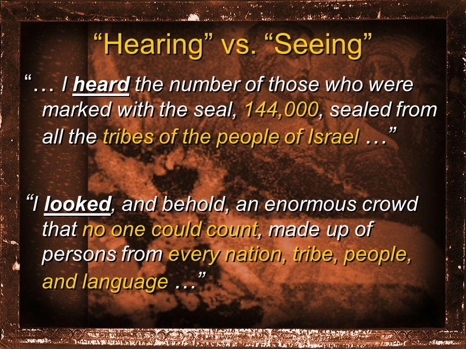 Hearing vs.