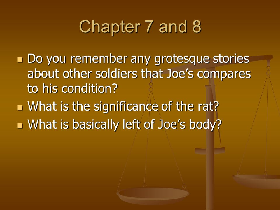 Chapter 9 Why does Joe feel his father is actually poor.