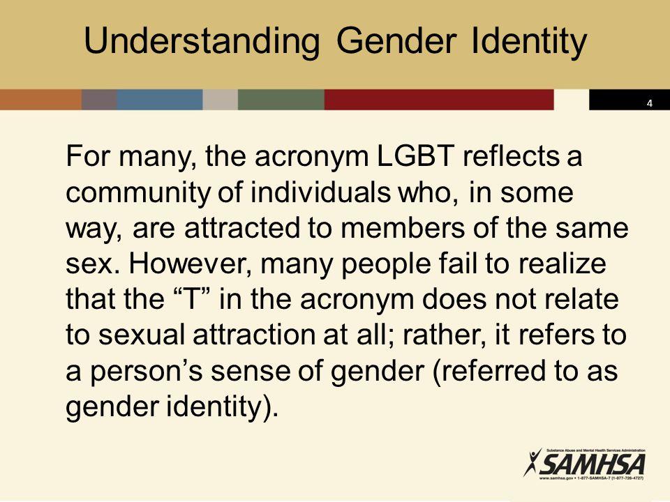 5 Gender Identity: Gender vs.