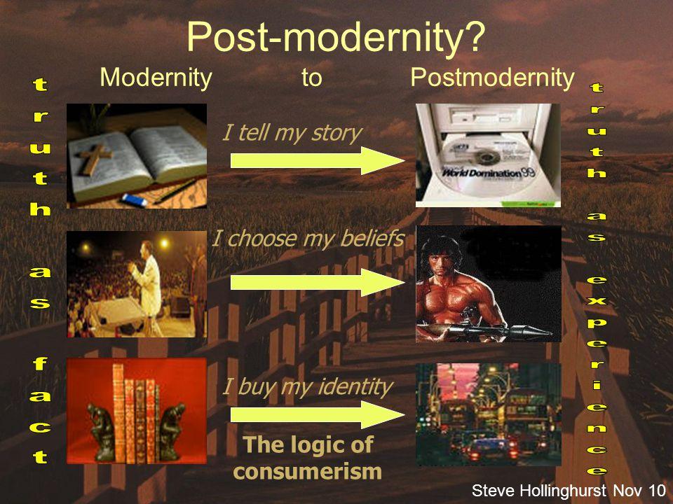 Steve Hollinghurst Nov 10 Post-Christendom.