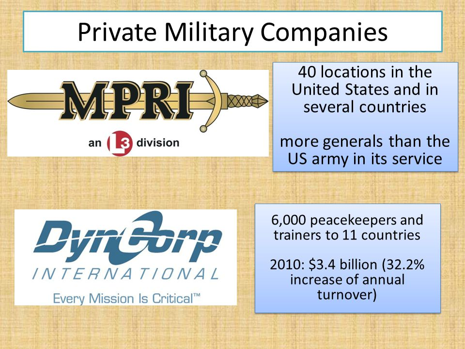Typical Contract Chain in Afghanistan, Iraq Prime Contractors US-based subcontractors Recruiting countries (e.g.