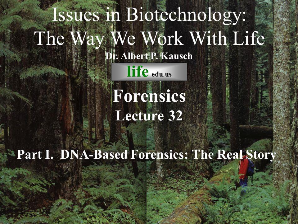 Forensic DNA Testing is like CSI! Just ingNothing