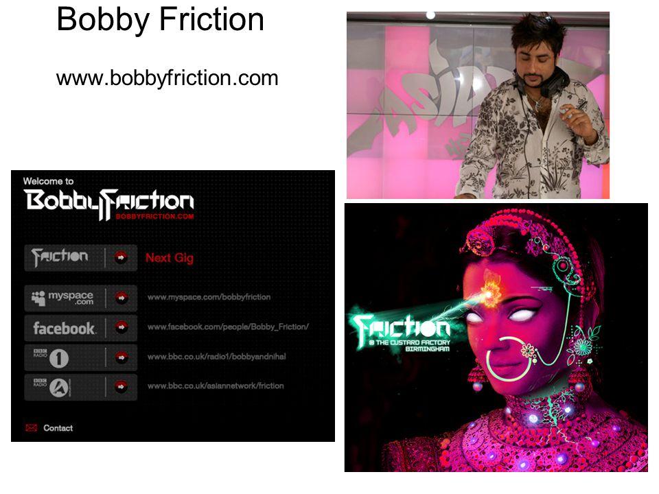 Bobby Friction www.bobbyfriction.com