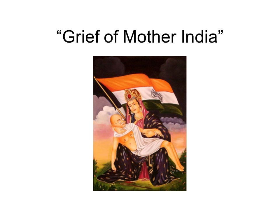Grief of Mother India