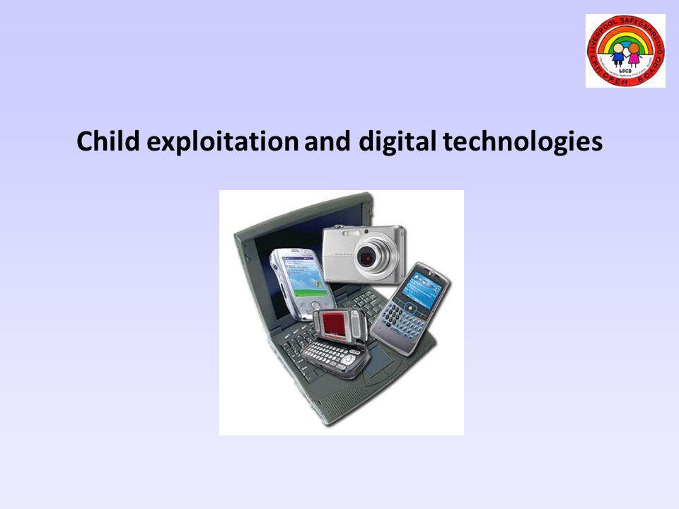 Child exploitation and digital technologies