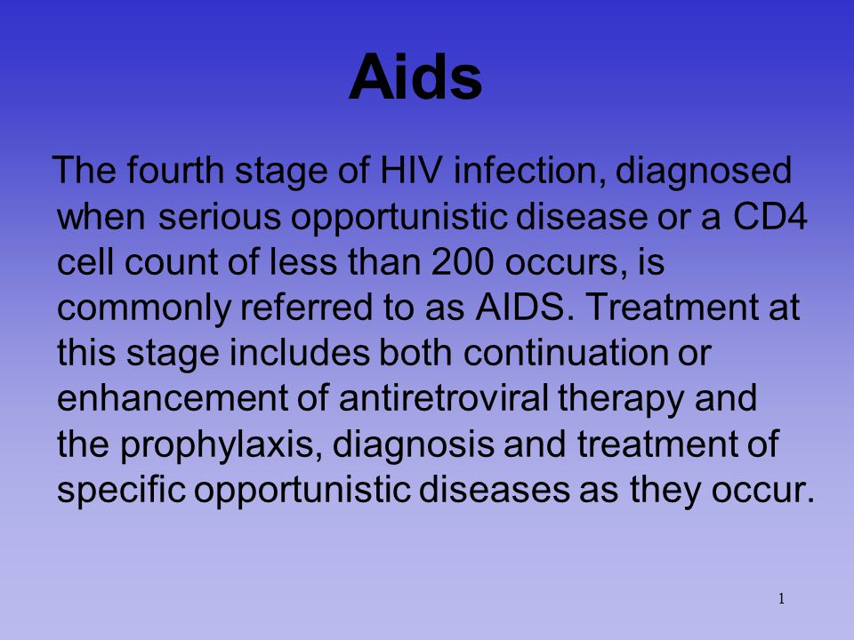 Common HIV-Related Opportunistic Infections CD4 > 500 – Lymphadenopathy – Recurrent vaginal candidiasis 2