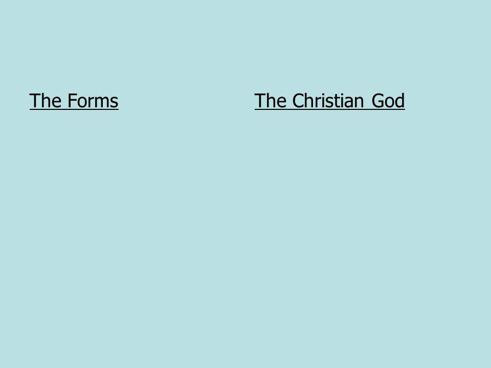 The FormsThe Christian God