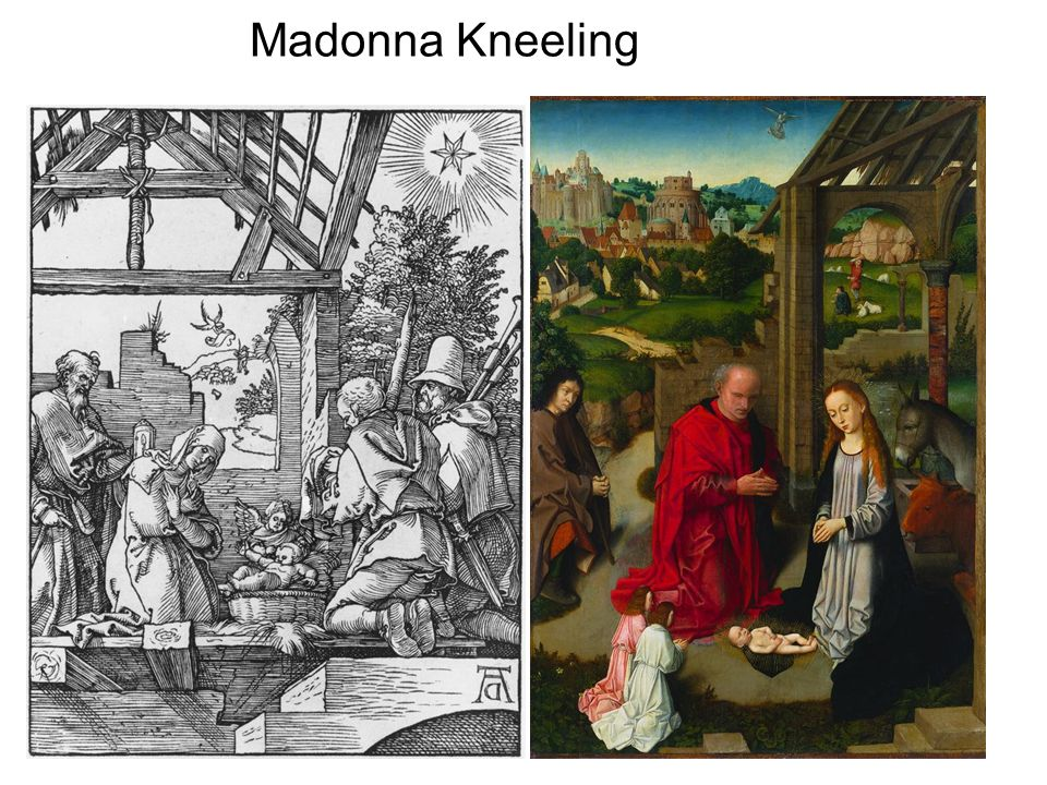 Madonna Kneeling
