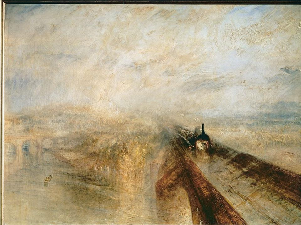 JM Turner: Steam & Fog (before 1844)