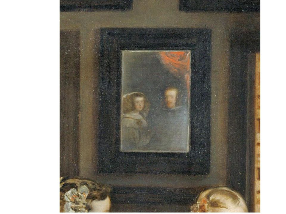 Detail of Velazquez' Las Meninas Detail