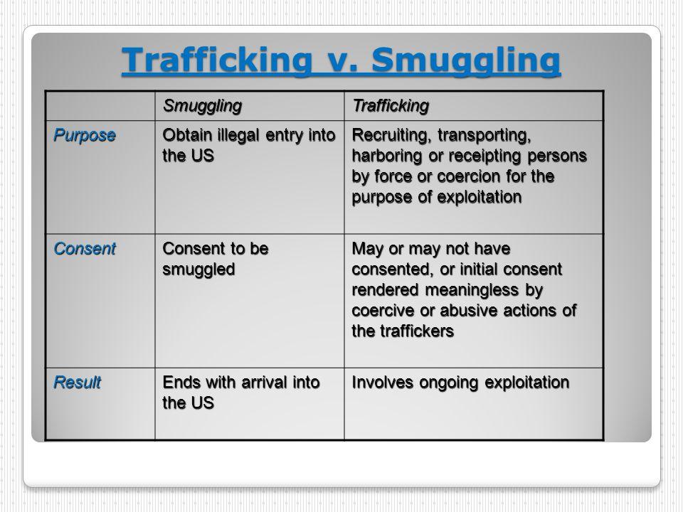 Trafficking v.