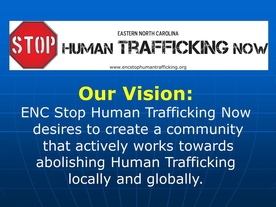 Human Trafficking: Two Types Sex Trafficking and Labor Trafficking