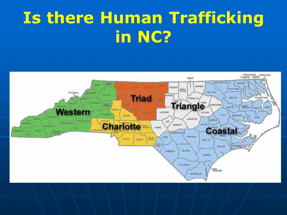 Is there Human Trafficking in NC