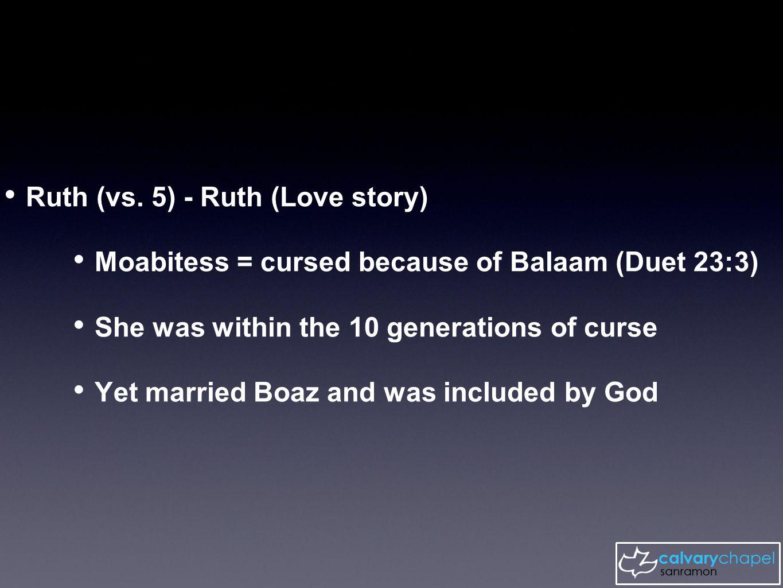 Ruth (vs.
