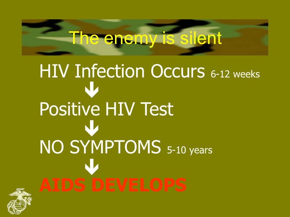 Understanding the Enemy 4 HIV stands for H uman I mmunodeficiency V irus 4HIV attacks and eventually destroys the immune system, the body's defense against infections 4When the immune system fails, AIDS develops ( A cquired I mmuno D eficiency S yndrome) 4A person with AIDS can't fight off infections, and will usually DIE from infection