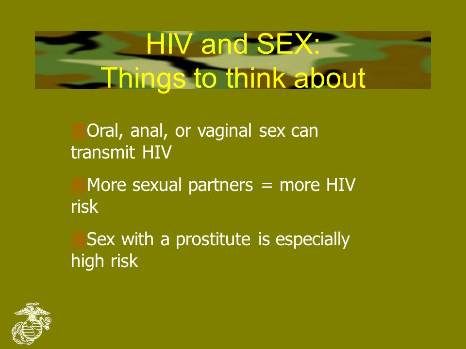Believe it or not 4Worldwide, HETEROSEXUAL contact is the #1 mode of HIV spreading 4In the U.S., HETEROSEXUAL contact is the fastest growing mode of HIV transmission