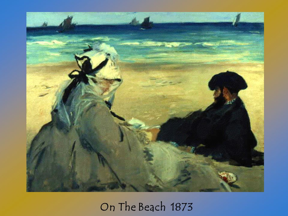 Edouard Manet was born in France. When he was 12 years old his father sent him to study law.