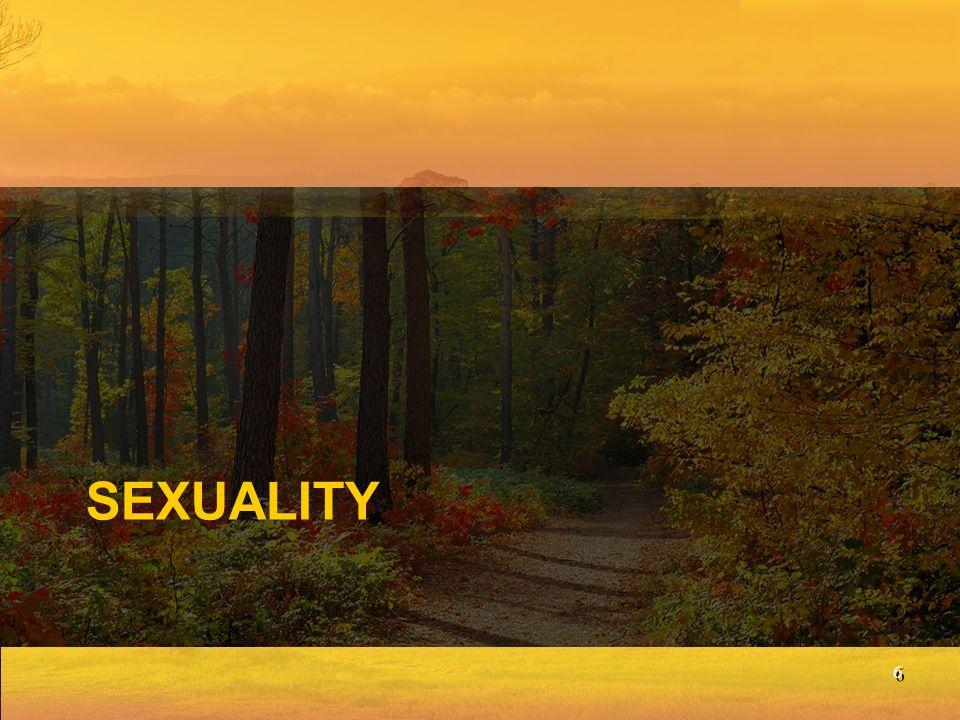 Humanity's Basic Identity is Gender: Genesis 1:27 God wants the sexes kept distinct.