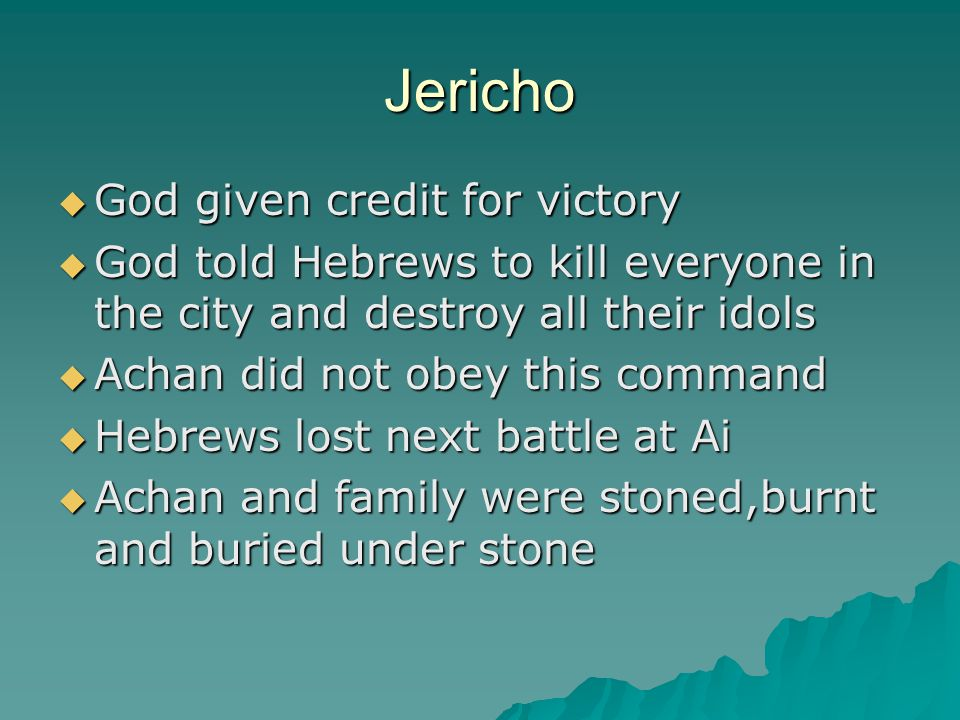 Jericho Today